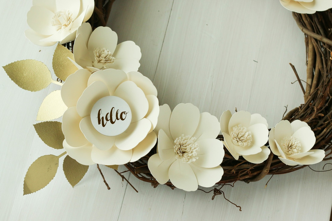 Cutting paper flowers with your cricut marie nicole designs not sure about you but this paper flower trend has me totally excited i love the look of those giant flowers they are just gorgeous as photo backdrops mightylinksfo
